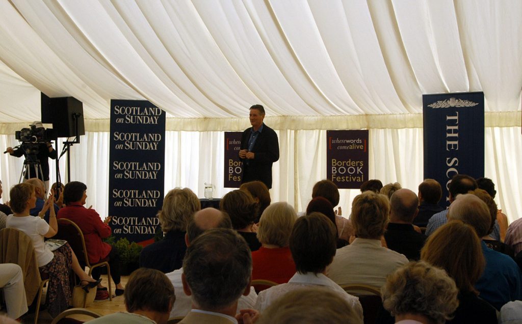 Borders Book Festival 2005 Michael Palin And Audience