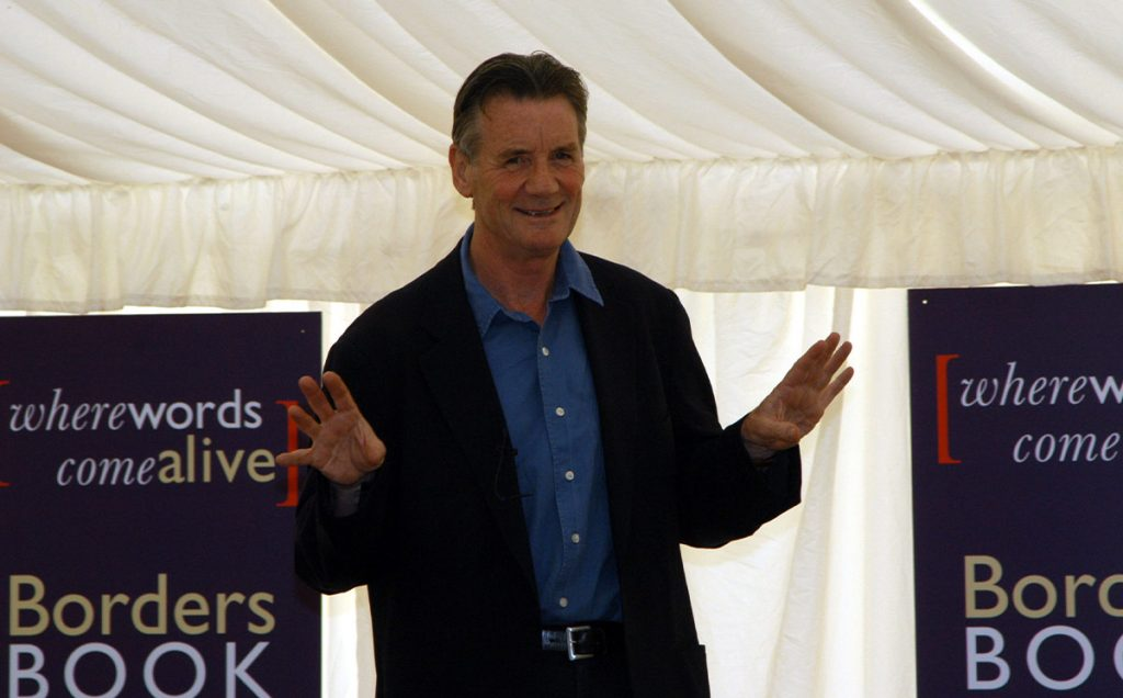 Borders Book Festival 2005 Michael Palin On Stage