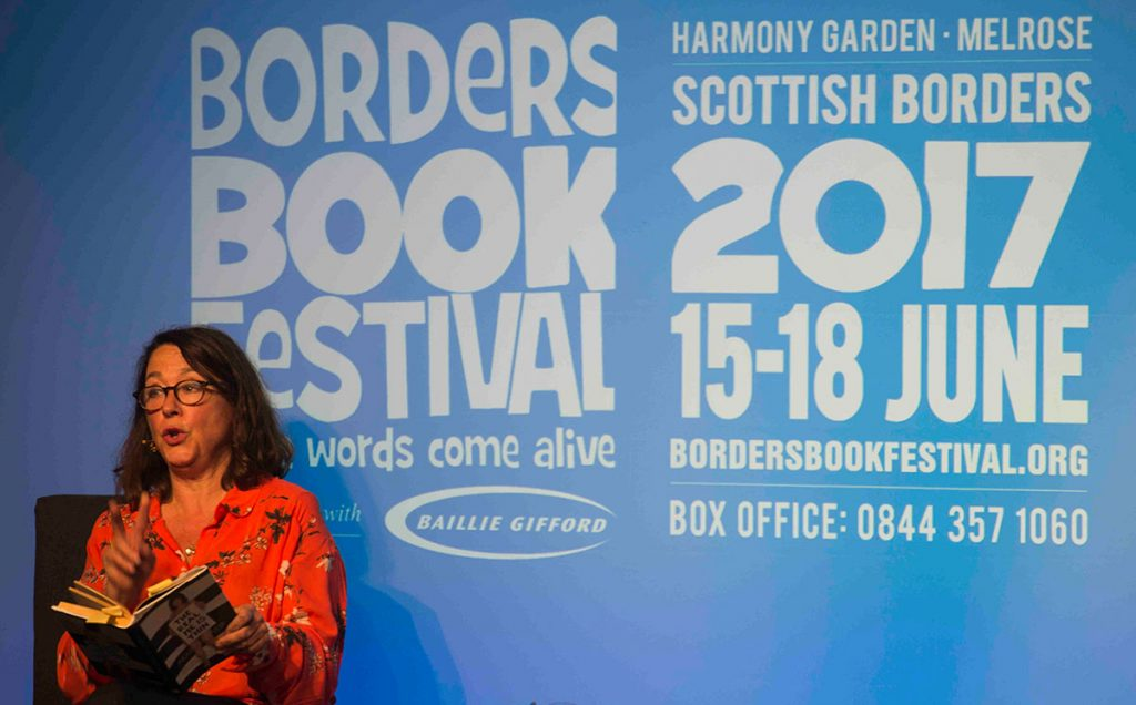 Borders Book Festival 2006 Arabella Weir