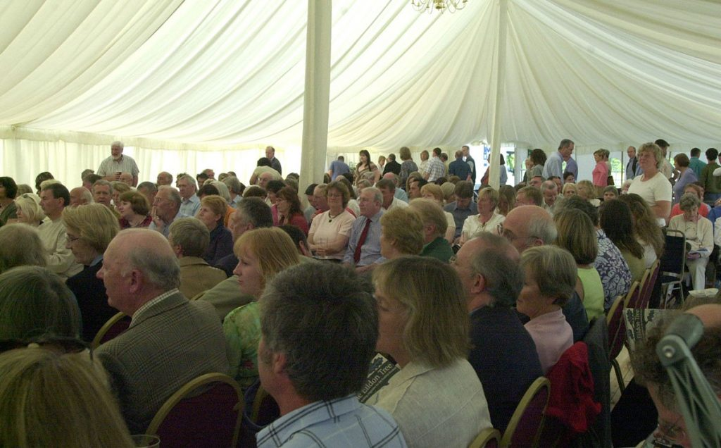 Borders Book Festival 2006 Marquee