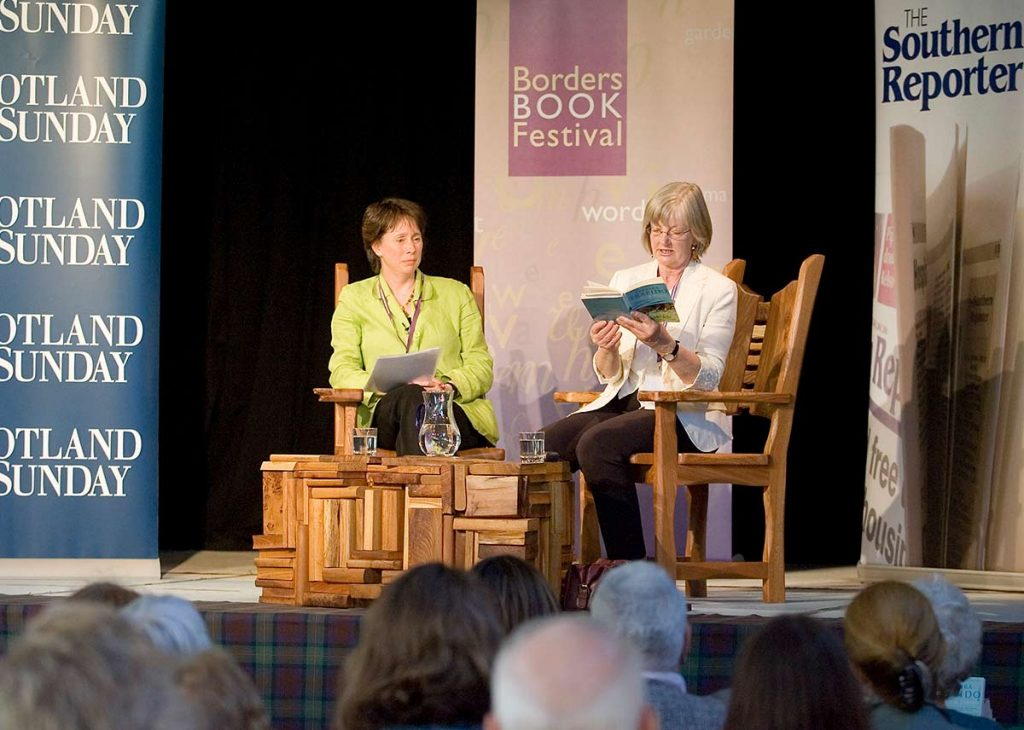 Borders Book Festival 2006 On Stage
