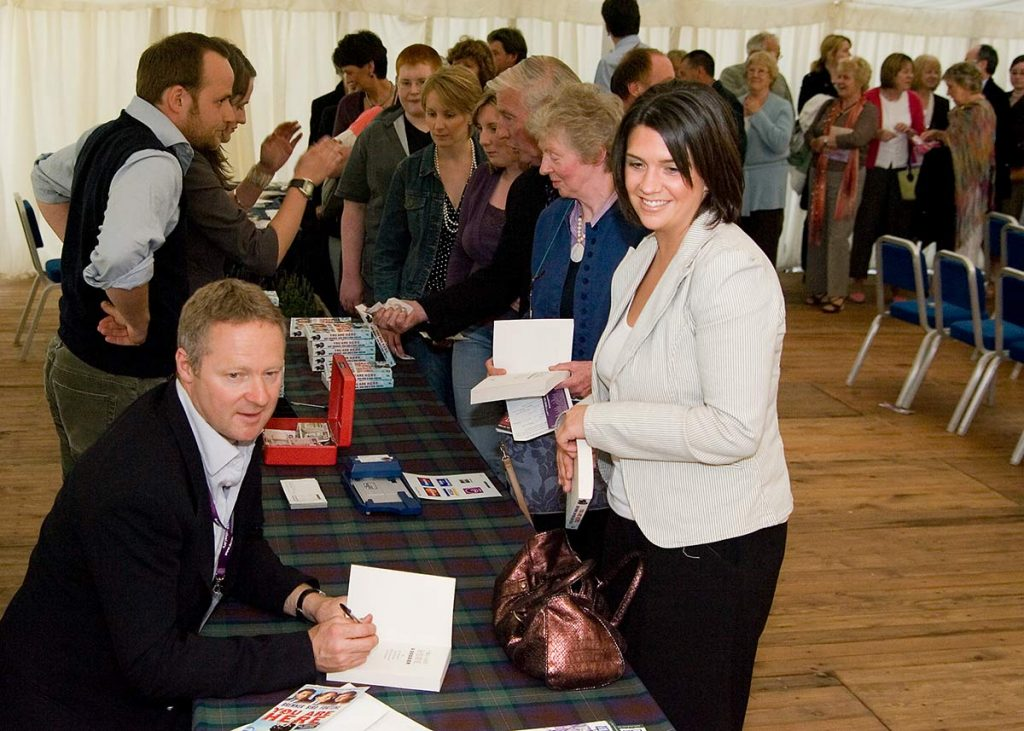 Borders Book Festival 2006 Rory Bremner Signing