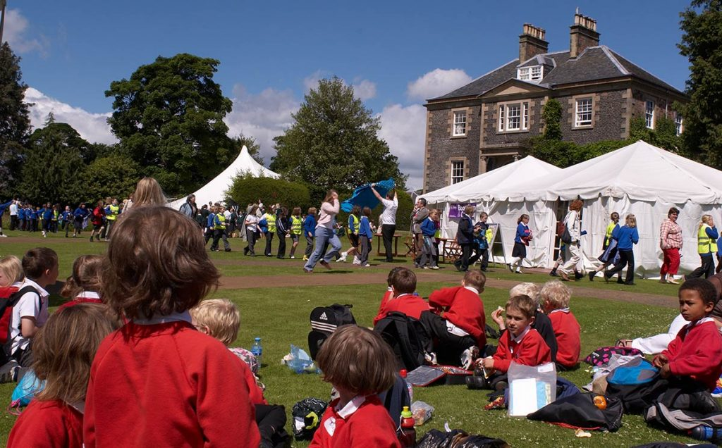 Borders Book Festival 2008 Schools Day