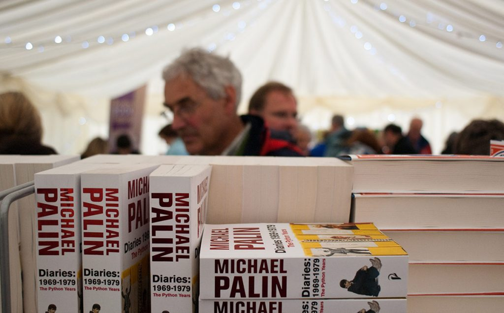 Borders Book Festival 2009 Bookshop