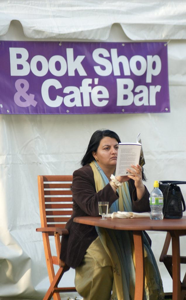 Borders Book Festival 2009 Bookshop And Cafe