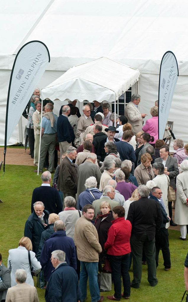 Borders Book Festival 2009 Harmony Garden Queue