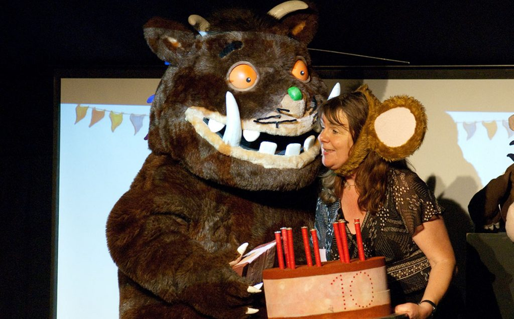 Borders Book Festival 2009 Julia Donaldson