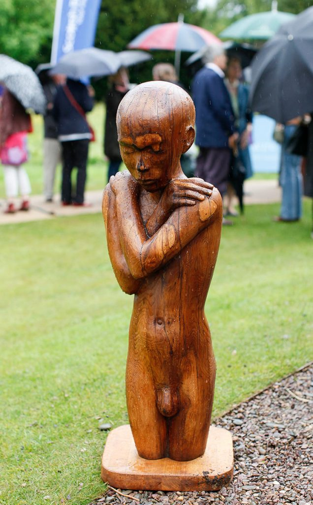 Borders Book Festival 2011 Borders Sculptures