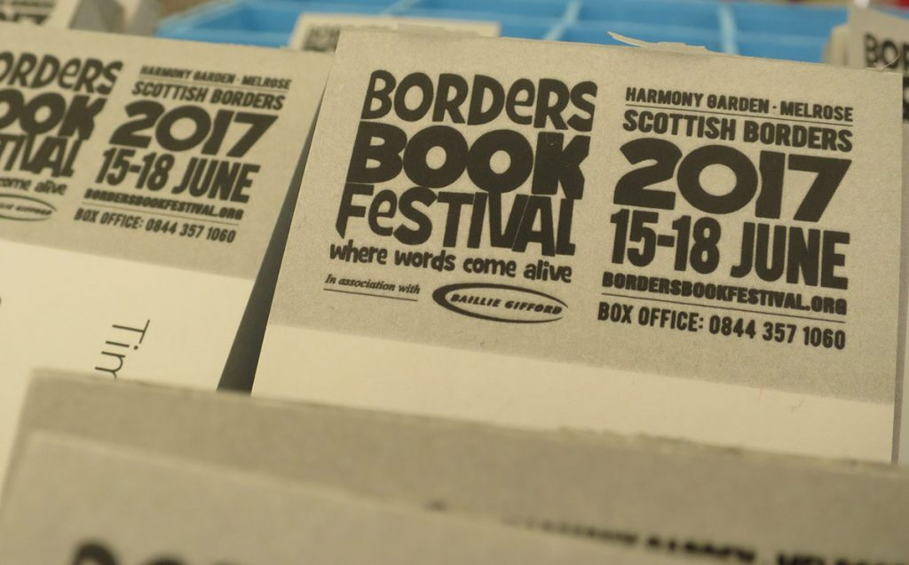 Borders Book Festival 2017 Box Office