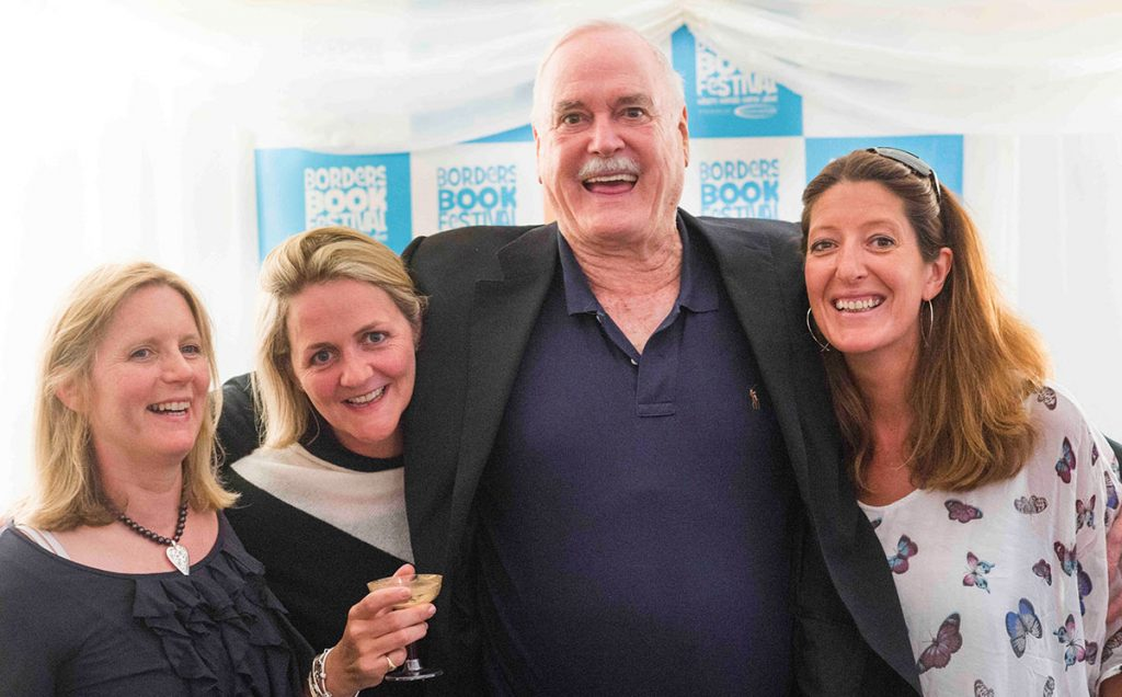 Borders Book Festival 2017 John Cleese And Friends