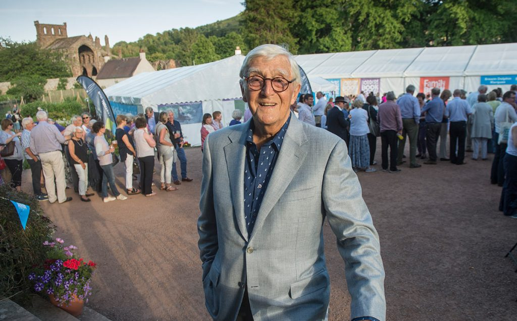 Borders Book Festival 2017 Michael Parkinson
