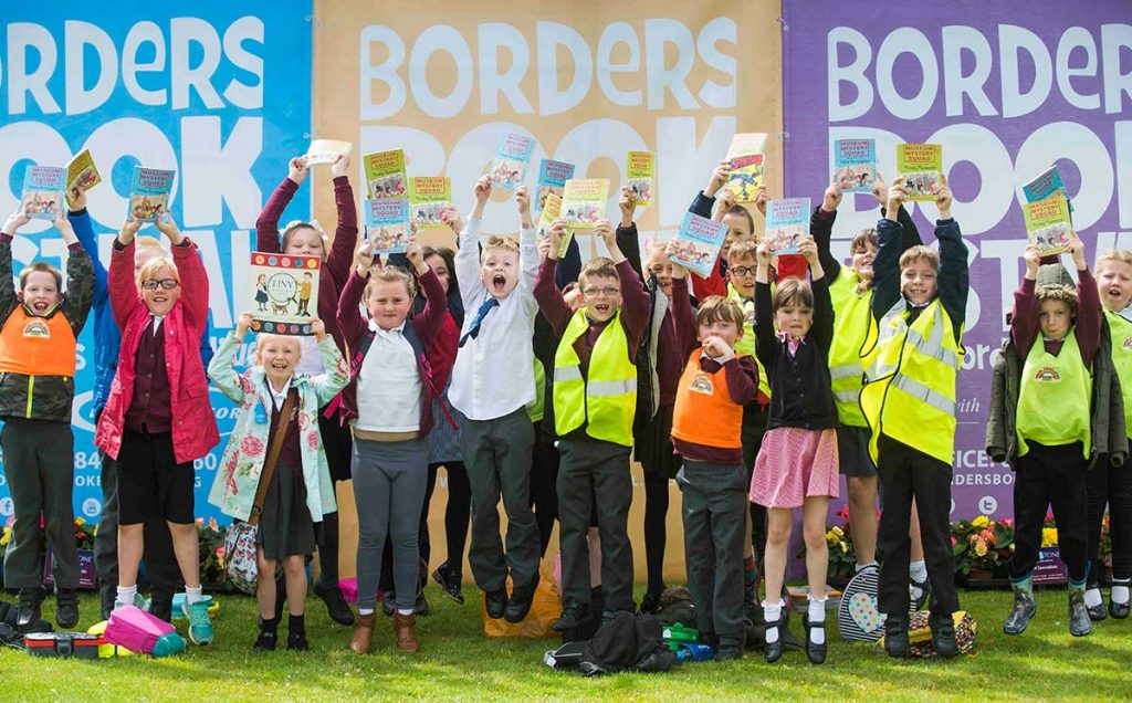 Borders Book Festival 2017 Schools Day Fun