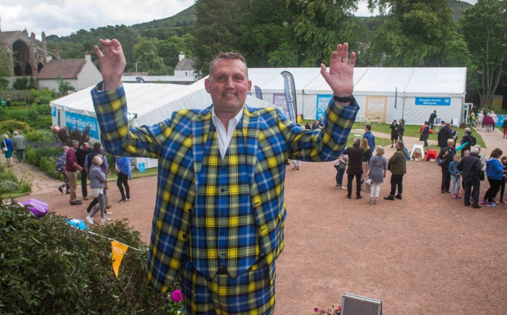 Borders Book Festival 2018 Doddie Weir