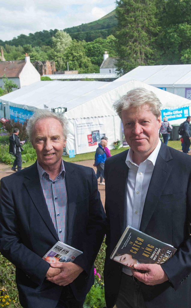 Borders Book Festival 2018 Duke Of Buccleuch Viscount Althorp