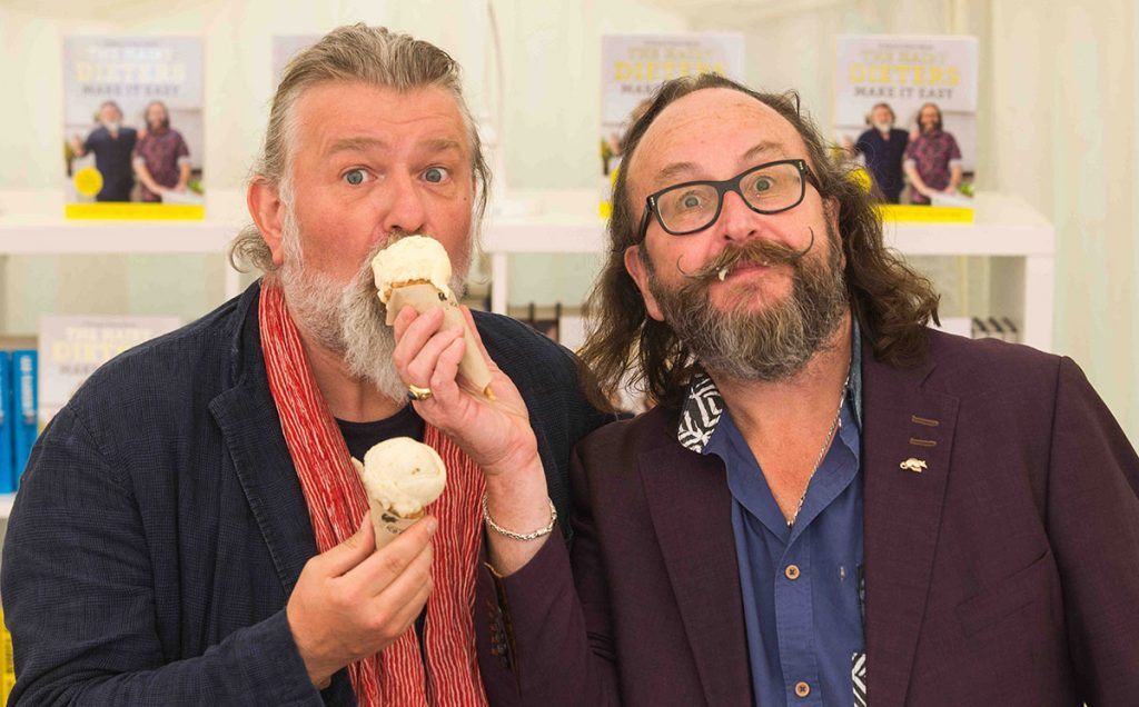 Borders Book Festival 2018 Hairy Bikers