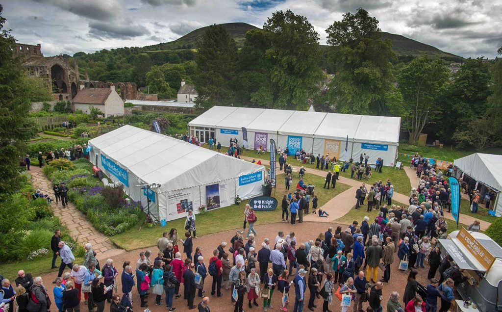 Borders Book Festival 2018 Harmony Garden View