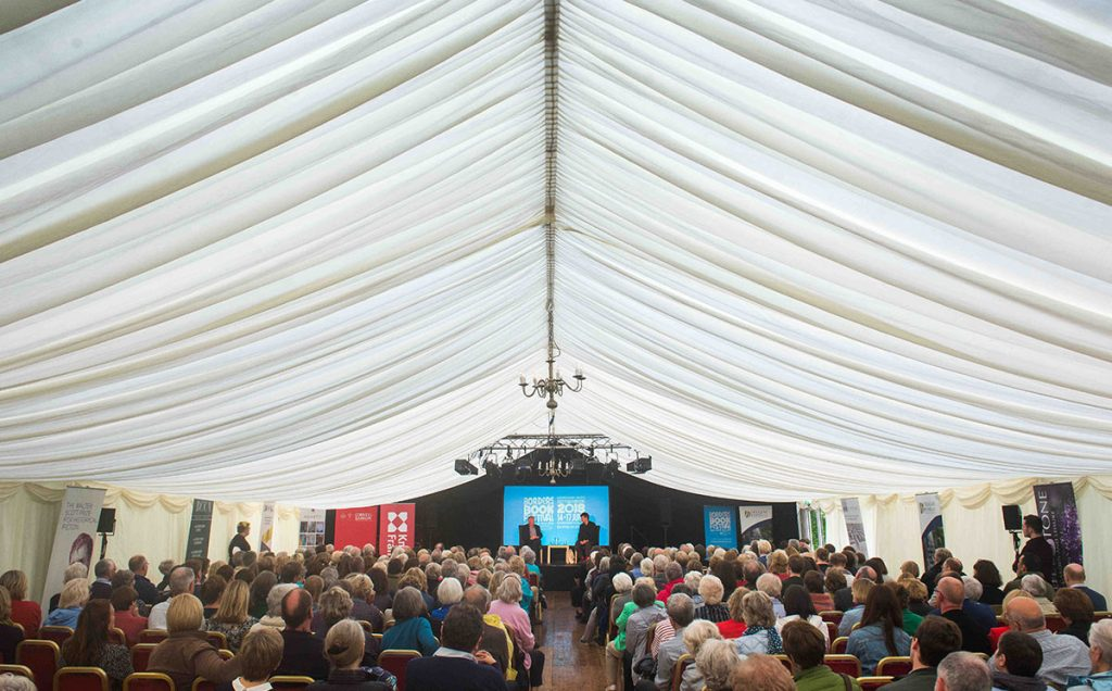 Borders Book Festival 2018 Ian Rankin Event