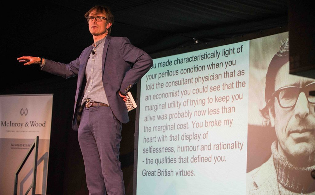 Borders Book Festival 2018 Robert Peston