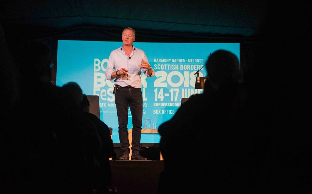 Borders Book Festival 2018 Rory Bremner
