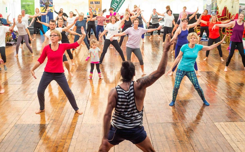 Borders Book Festival 2019 Disco Yoga