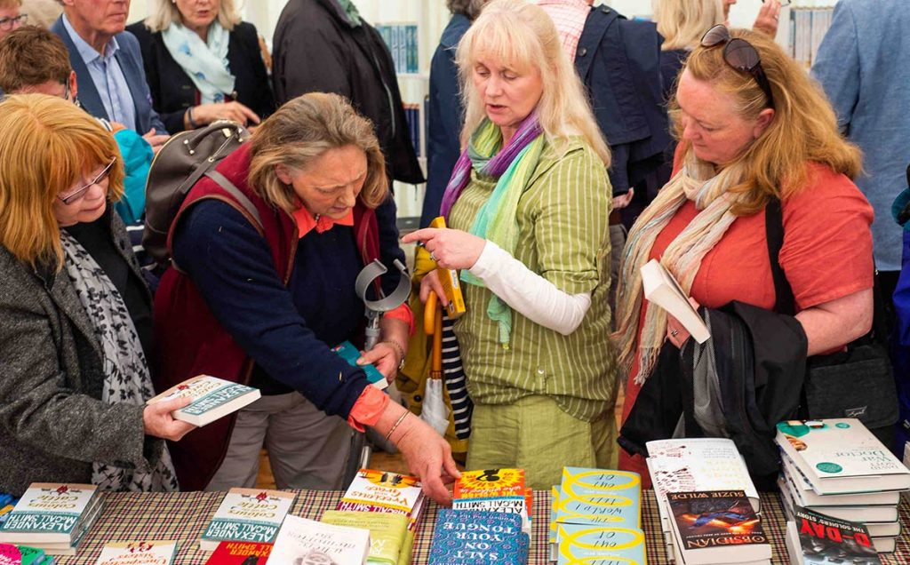 Borders Book Festival 2019 Festival Book Shop Browsing