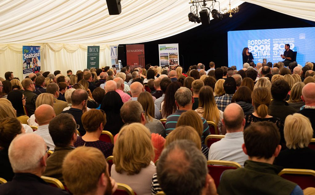 Borders Book Festival 2019 Full House