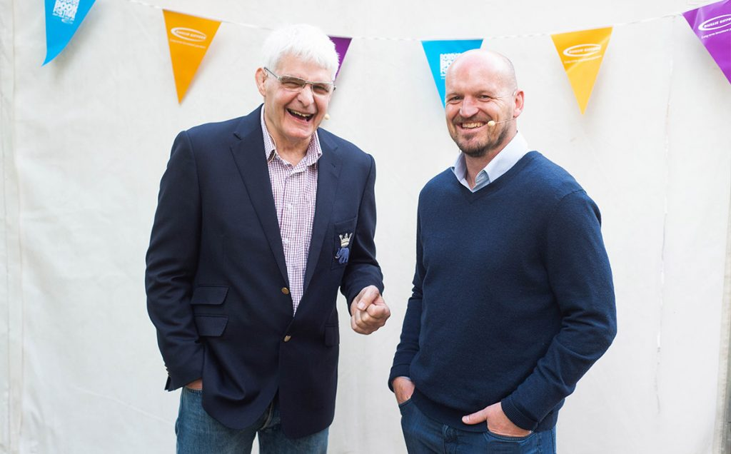 Borders Book Festival 2019 Gregor Townsend
