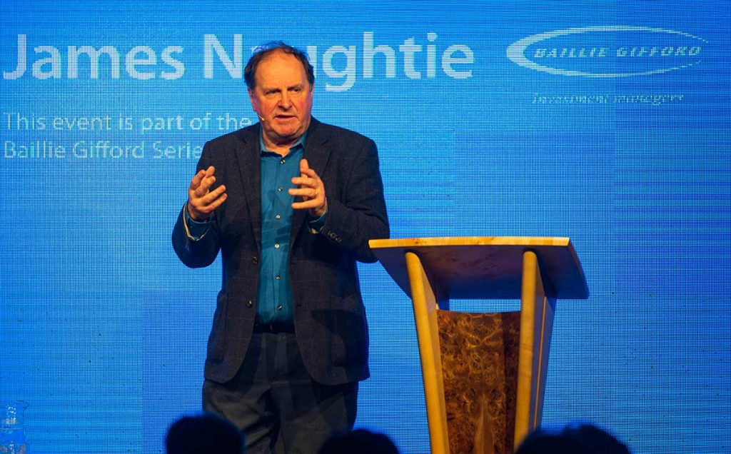 Borders Book Festival 2019 James Naughtie