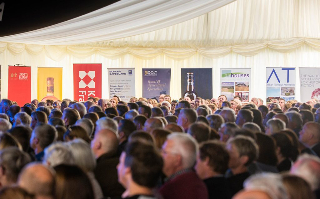 Borders Book Festival 2019 Marquee