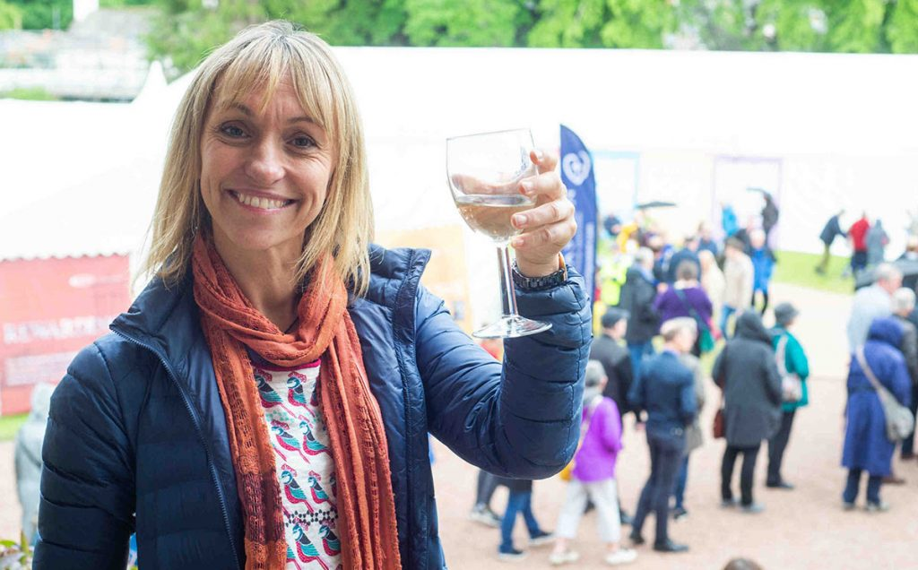 Borders Book Festival 2019 Michaela Strachan