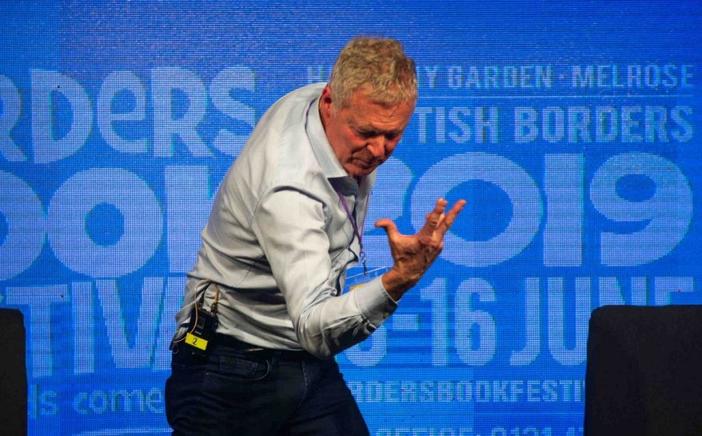 Borders Book Festival 2019 Rory Bremner