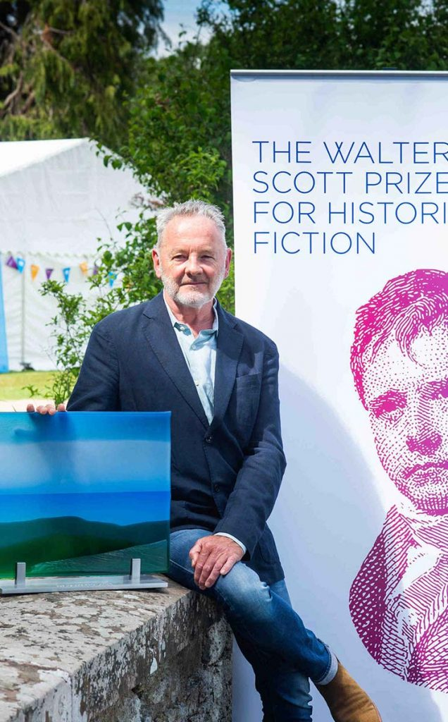 Borders Book Festival 2019 Walter Scott Prize Winner Robert Robertson