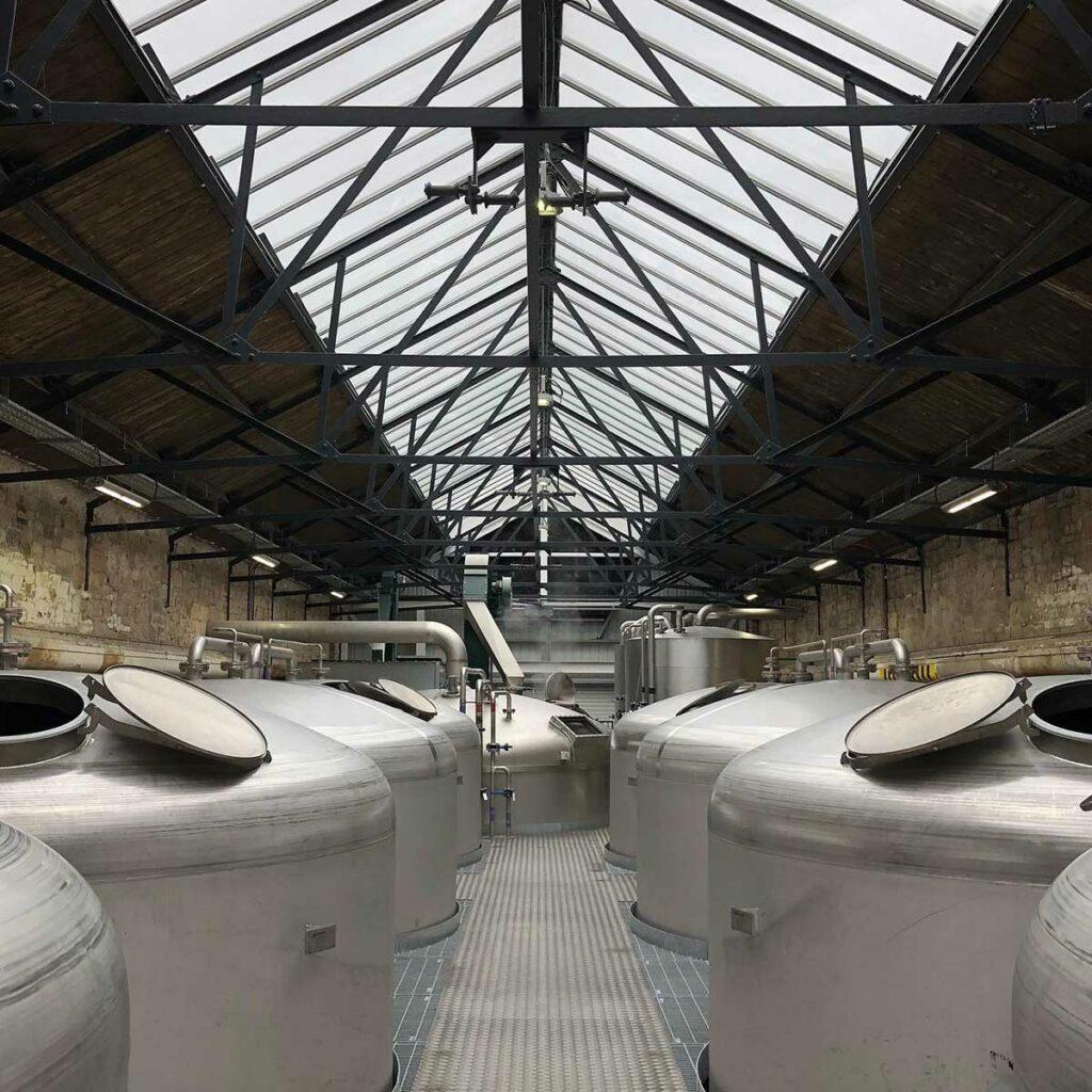 Borders Distillery Washbacks