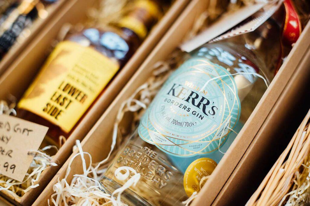 Borders Distillery Bottles