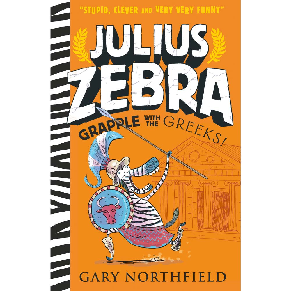 Julius Zebra Grapple With The Greeks Gary Northfield