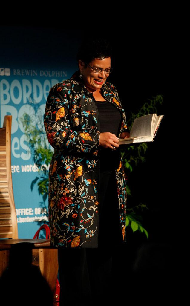 Borders Book Festival 2010 Jackie Kay