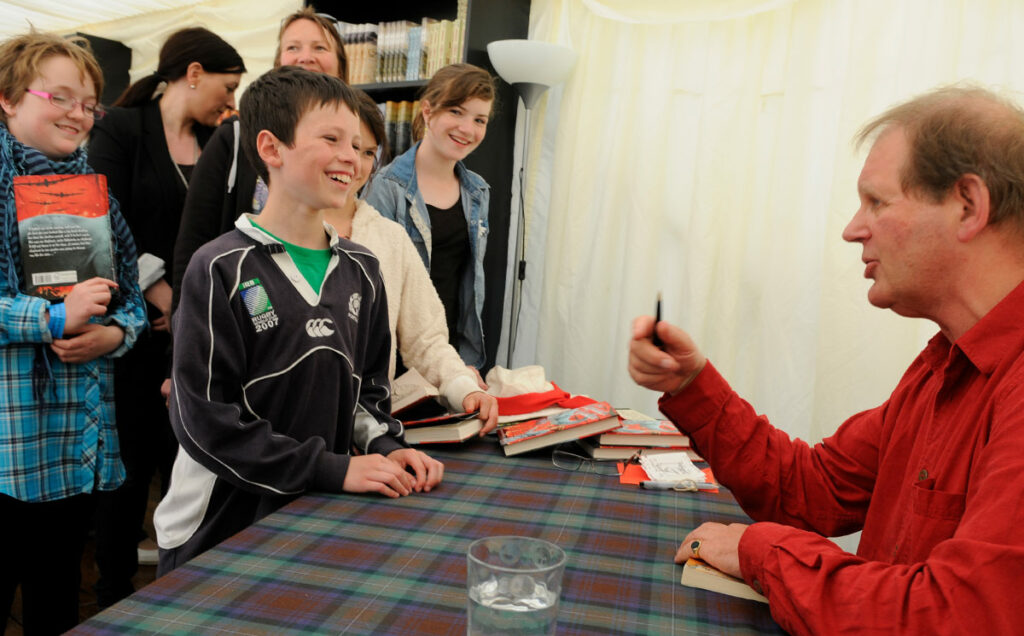 Borders Book Festival 2010 Michael Morpurgo