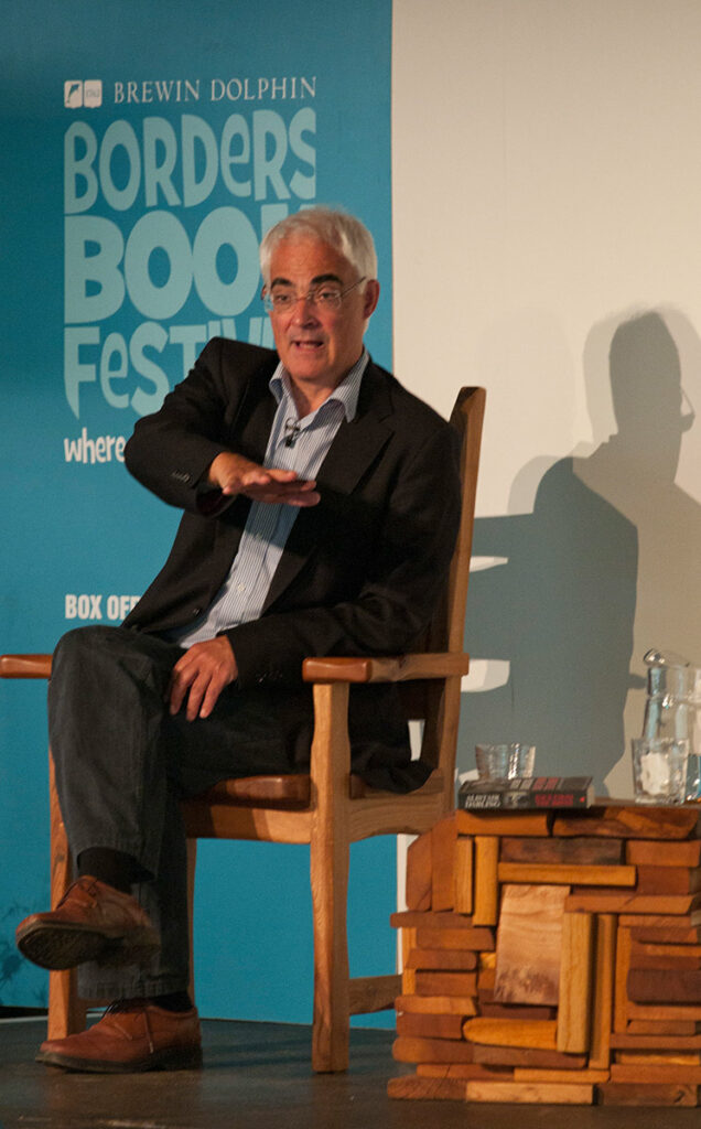 Borders Book Festival 2012 Alistair Darling