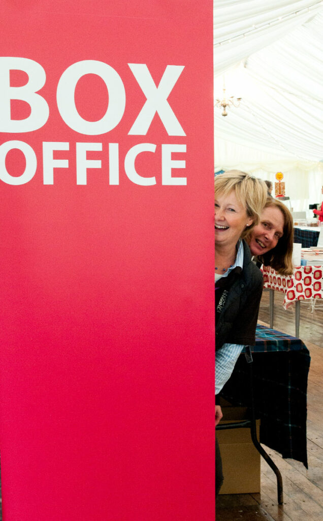 Borders Book Festival 2012 Box Office