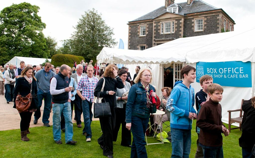 Borders Book Festival 2012 Harmony Garden