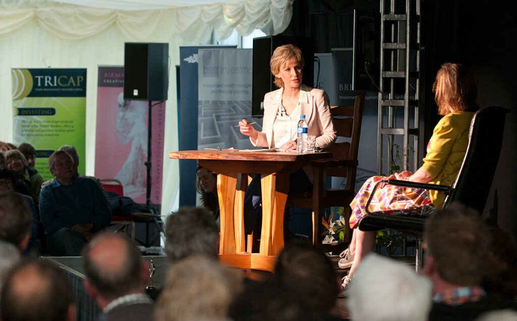 Borders Book Festival 2012 Sally Magnusson