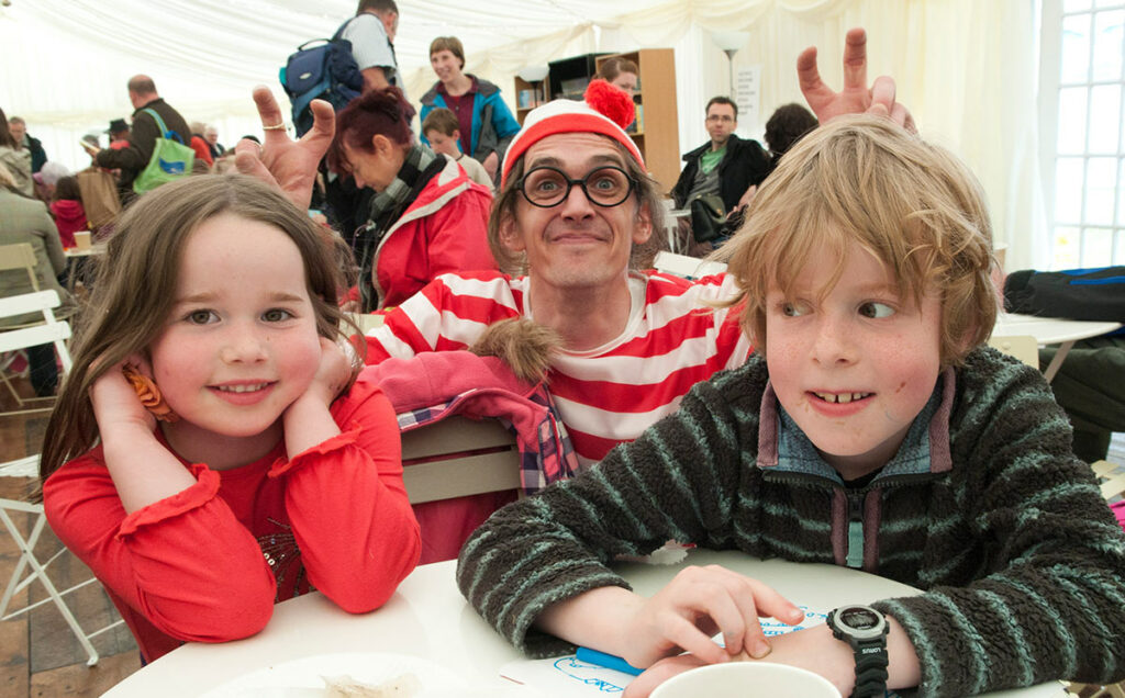 Borders Book Festival 2012 There's Wally