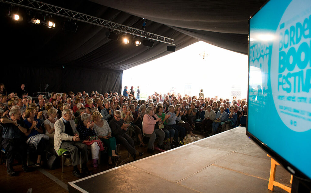 Borders Book Festival 2014 Another Full House