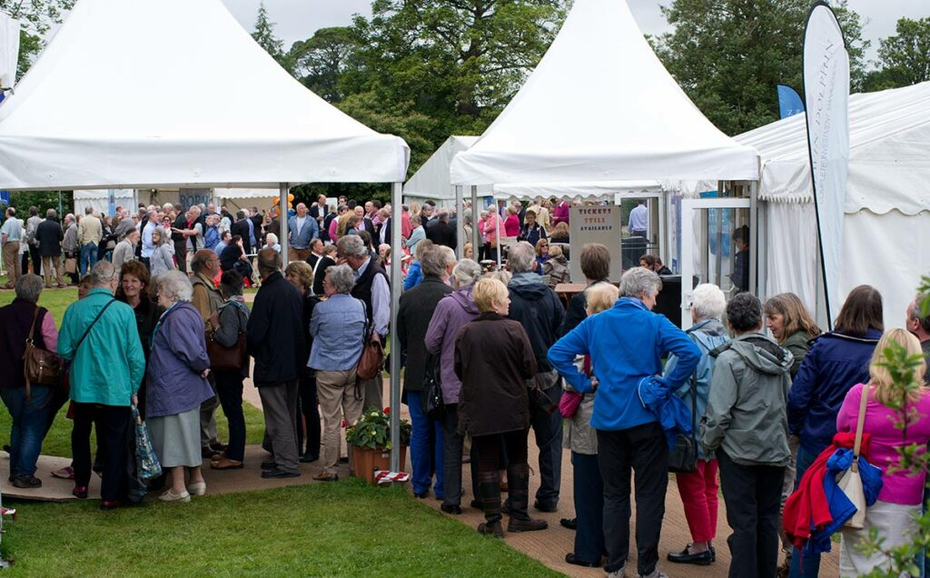 Borders Book Festival 2014 Huge Crowds
