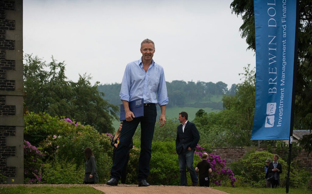 Borders Book Festival 2014 Rory Bremner
