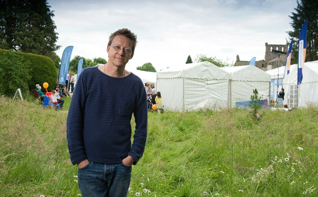Borders Book Festival 2014 Simon Mayo