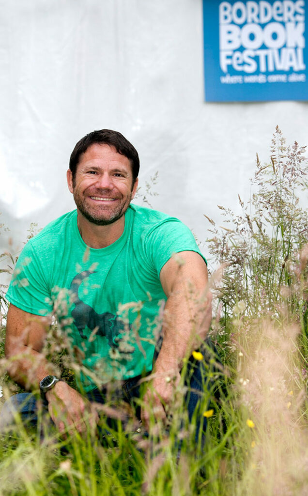Borders Book Festival 2014 Steve Backshall