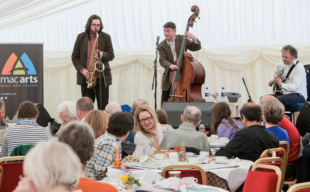 Borders Book Festival 2015 Afternoon Jazz