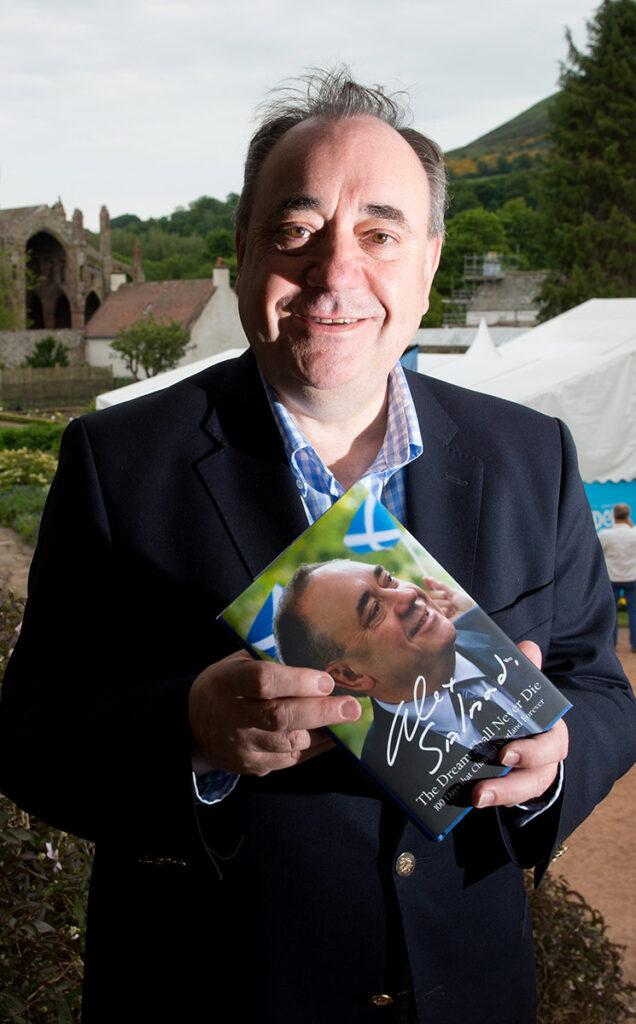 Borders Book Festival 2015 Alex Salmond