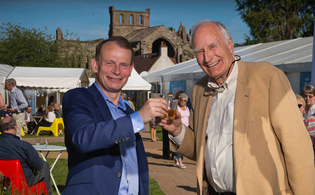 Borders Book Festival 2015 Andrew Marr With Peter Snow